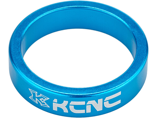 "KCNC Headset Spacer 1 1/8"" 8mm, blue"